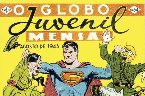 12 de Junho - 1937 – Lançamento de O Globo Juvenil, primeira revista publicada pelas Organizações Globo.
