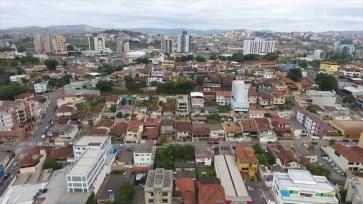 9 de Outubro - Panorâmica da cidade — Itabira (MG) — 169 Anos em 2017.