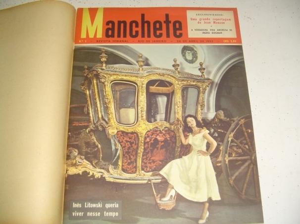 26 de Abril - 1952 — É publicada a primeira edição da Revista Manchete, da Bloch Editores.