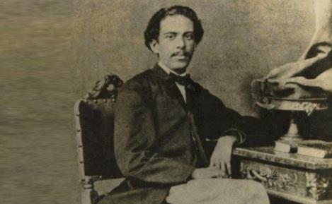 21 de Junho - O jovem Machado aos 25 anos, 1864, gostava de teatro e lutava para subir socialmente. Foto de Insley Pacheco.
