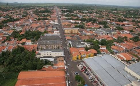 17 de Abril - Bacabal, Maranhão, tomada aérea.
