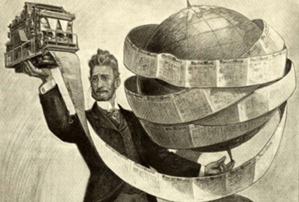 10 de Abril - 1847 — Joseph Pulitzer, jornalista e editor húngaro - The World.