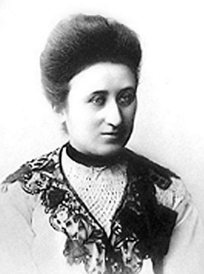 Rosa Luxemburgo, filósofa, marxista, economista, política, líder, 5
