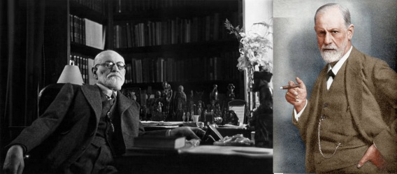 6 de maio - Sigmund Freud, neurologista e fundador da psicanálise.