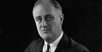 12 de Abril - 1945 — Franklin Delano Roosevelt, político norte-americano (n. 1882).
