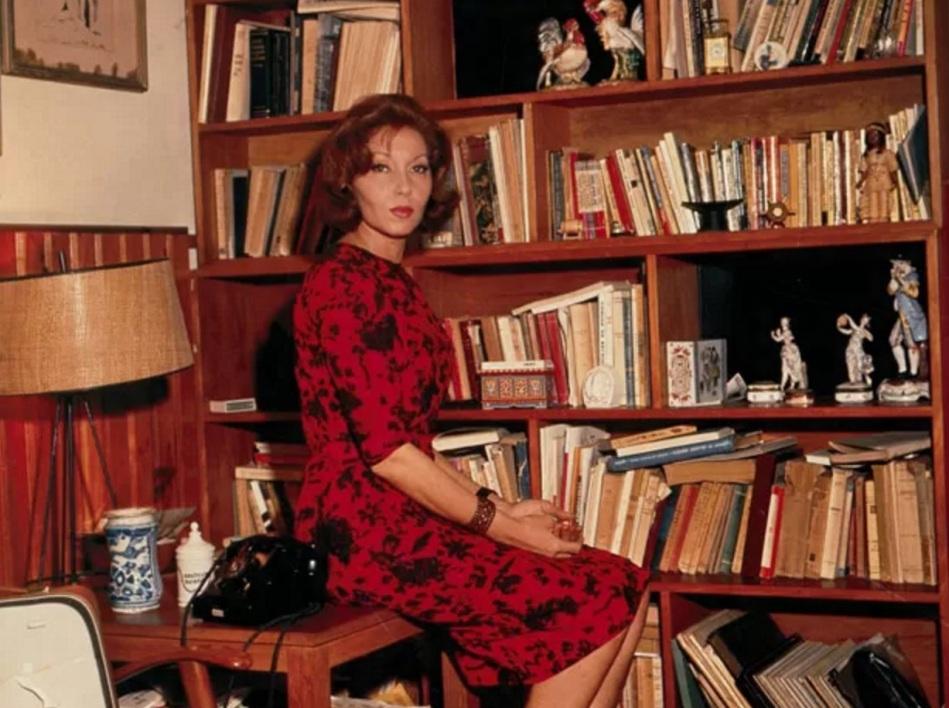 clarice-lispector-escritora-e-jornalista-estante-livros-colorida