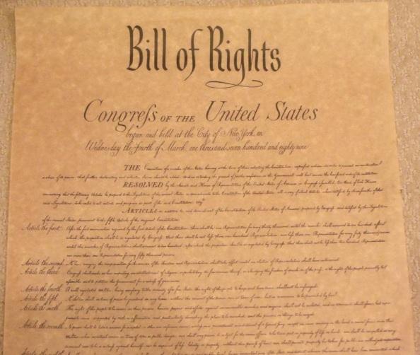 25 de Setembro – 1789 – Criada a Carta dos Direitos dos Estados Unidos.