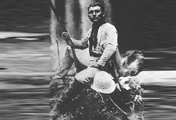 5 de Maio - 1865 - Cândido Rondon - militar, marechal e sertanista brasileiro, jovem.
