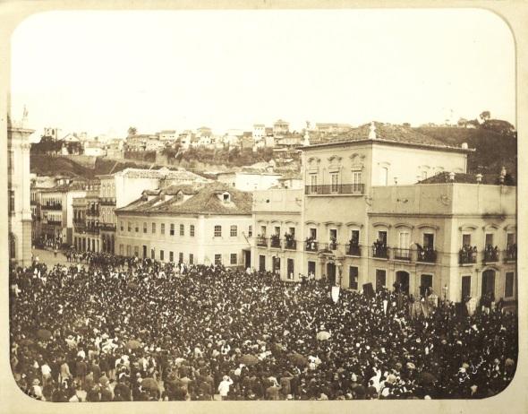 13 de Maio - Assinatura da Lei Áurea no Paço Imperial