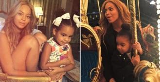 4 de Setembro – Beyoncé - 1981 – 36 Anos em 2017 - Acontecimentos do Dia - Foto 14 - Beyoncé com a filha Blue Ivy.