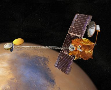 7 de Abril - 2001 — É lançada a sonda espacial Mars Odyssey.