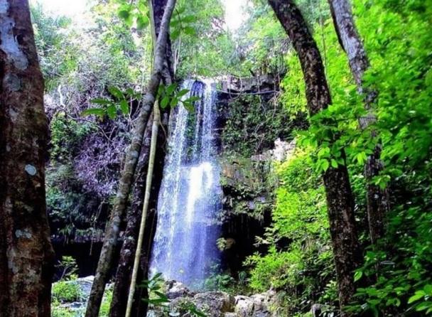 1 de Maio - Nobres (MT) - Cachoeira Salto do Tucum.