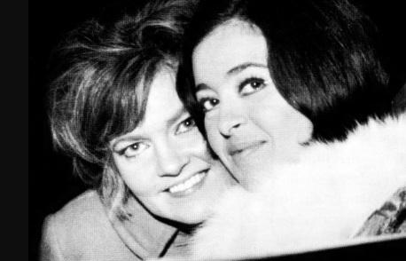 6 de Junho - Maysa e a cantora portuguesa Simone de Oliveira, em 1966.