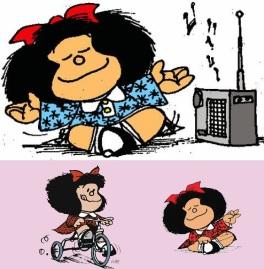 29 de Setembro – 1964 – Publicação da primeira tira da personagem de HQ, Mafalda.
