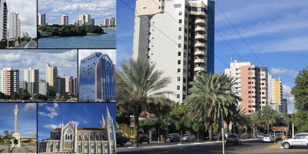 21 de Setembro – Fotomontagem com pontos turísticos da cidade — Petrolina (PE) — 122 Anos em 2017.
