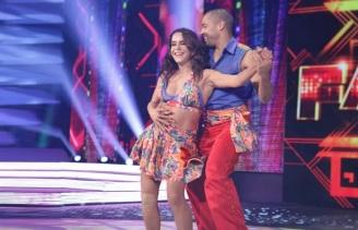 20 de Maio - Lucélia Santos na Dança dos Famosos.