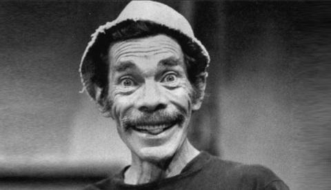 2 de Setembro – 1923 - Ramón Valdés, ator mexicano, que interpretava o Seu Madruga em El Chavo.