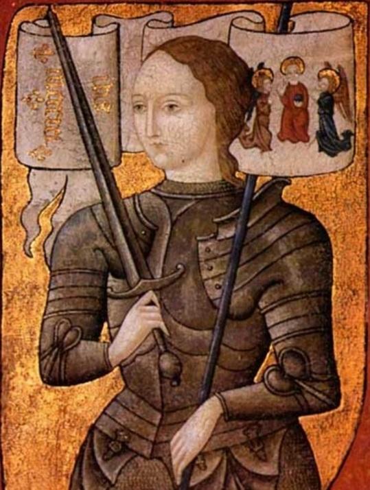 30 de maio - Joana d'Arc, heroína francesa e santa católica