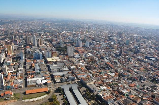 15 de Setembro – Foto aérea da cidade — Ponta Grossa (PR) — 194 Anos em 2017.
