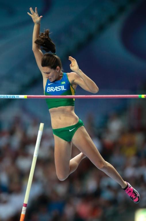 16 de Março - Fabiana Murer, atleta brasileira.