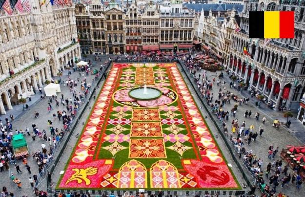 Cidade de Bruxelas, capital da Bélgica.