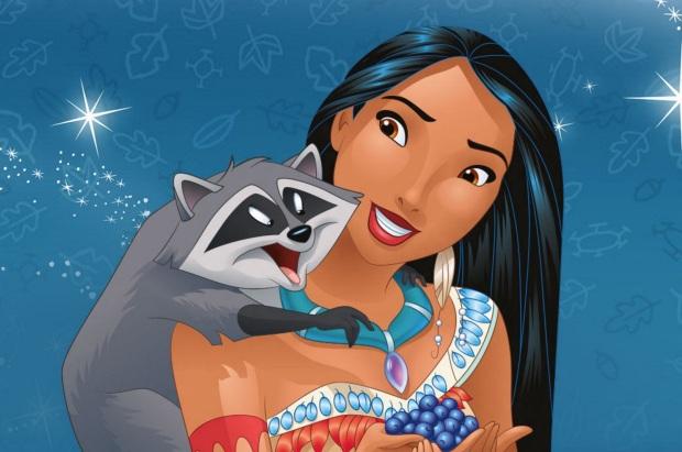 21 de Março - Pocahontas, desenho