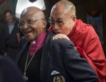 7 de Outubro - Desmond Tutu- 1931 – 86 Anos em 2017 - Acontecimentos do Dia - Foto 15 - Desmond Tutu e Dalai Lama.