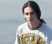 22 de Agosto — Rodrigo Santoro - 1975 – 42 Anos em 2017 - Acontecimentos do Dia - Foto 16 - Ainda adolescente.