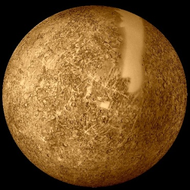 29 de Março - 1974 - Mercúrio visto da Mariner 10
