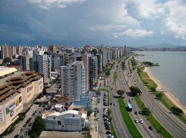 23 de Março - Avenida Beira Mar, a principal avenida do município de Florianópolis (SC)