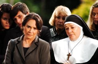 11 de Maio - Regina Duarte e Bete Mendes contracenam na novela 'Páginas da Vida'.