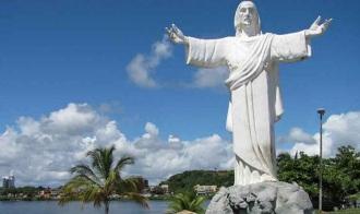 28 de Junho – Monumento do Cristo — Ilhéus (BA) — 483 Anos.
