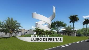 31 de Julho - Anúncio de boas vindas - Lauro de Freitas (BA) — 55 Anos em 2017.