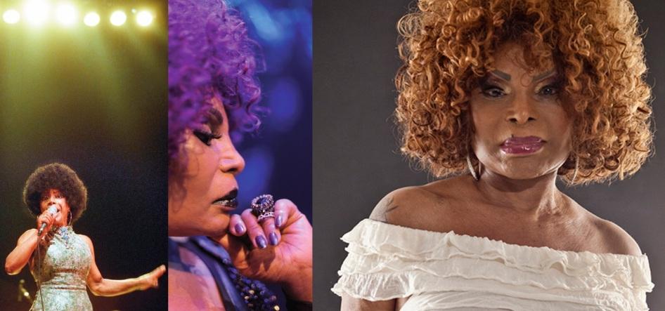 23 de Junho - Elza Soares, cantora, brasileira, fotomontagem.
