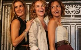14 de Junho - Novela 'Insensato Coração' - Deborah Secco, Paola Oliveira e Camila Pitanga.