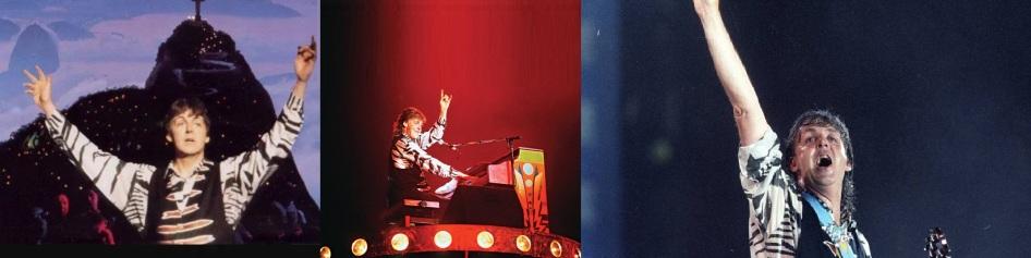 18 de Junho - Paul McCartney - cantor e compositor inglês - no Brasil em 1990 - Maracanã.
