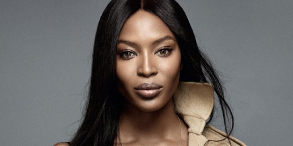 22 de maio - Naomi Campbell, primeira modelo negra com reconhecimento internacional, atriz, inglesa