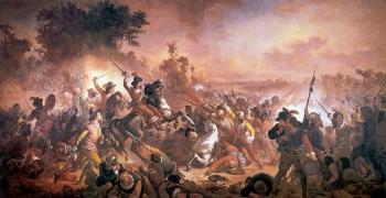 4 de Maio - As Batalhas dos Guararapes, episódios decisivos na Insurreição Pernambucana, são consideradas a origem do Exército Brasileiro – Jaboatão dos Guararapes (PE).