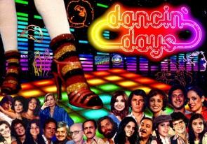 8 de Junho - Elenco de 'Dancin' Days'.