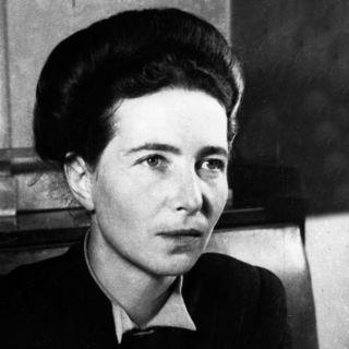 Simone de Beauvoir, escxritora, filósofa, 4