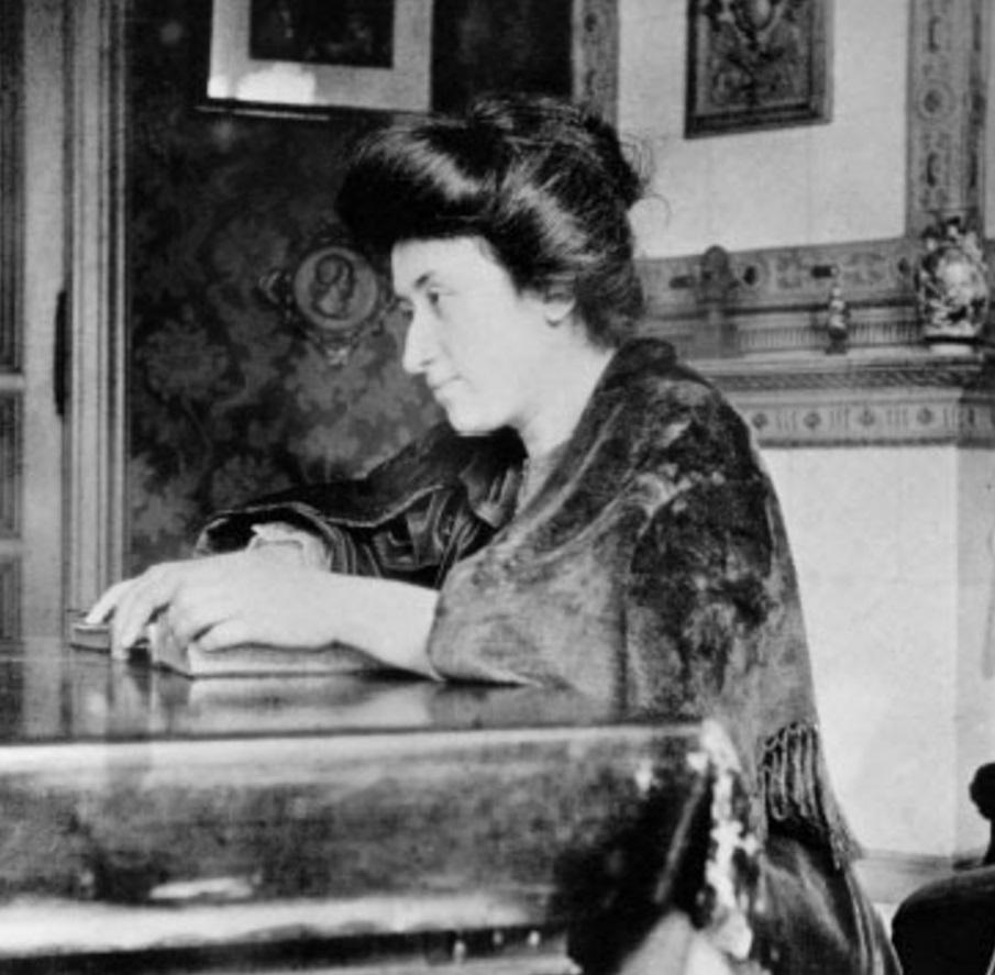 Rosa Luxemburgo, filósofa, marxista, economista, política, líder, 4