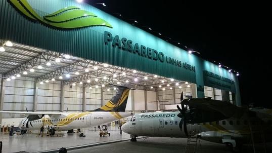 19 de Junho - Hangar de Manutenção e Engenharia da Passaredo, no aeroporto de Ribeirão Preto — Ribeirão Preto (SP) — 161 Anos.