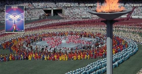 1988 – Jogos Olímpicos de Seul.