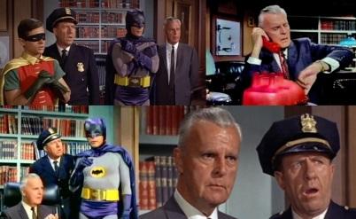 24 de Setembro – 1984 - Neil Hamilton como o Comissário Gordon, em Batman.