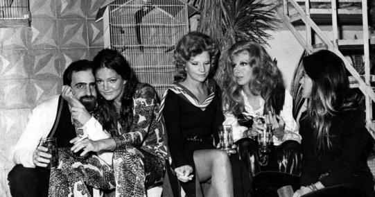 6 de Junho - Maysa fez parte do elenco da novela 'O Cafona', ao lado de Ary Fontora, tônia Carrero e Marília Pera.