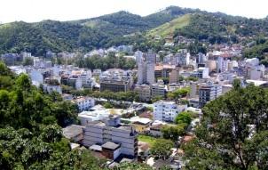 16 de Maio - Nova Friburgo (RJ) – Vista aérea.