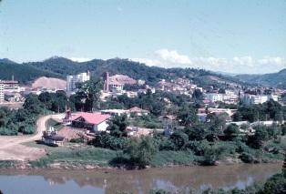 2 de Setembro – Vista parcial da cidade — Blumenau (SC) — 167 Anos em 2017.