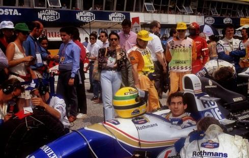1 de Maio - Ayrton Senna em San Marino, 1994.