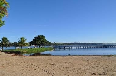1 de Abril - Arealva (SP) - Praia.