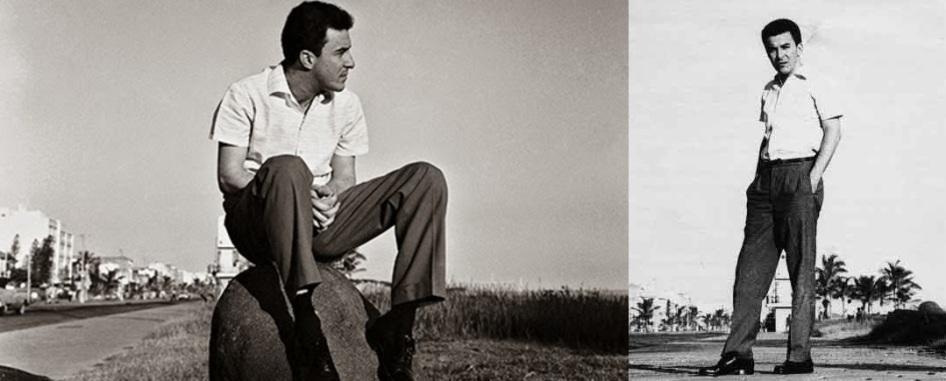 10 de Junho - João Gilberto em foto da década de 1950.